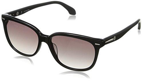 CK CK4215SL 001 Wayfarer Sunglasses, Black, 16 mm