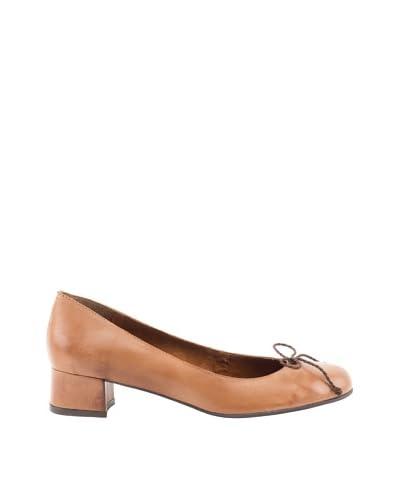 Liberitae Zapatos tacón Lazo Cuero