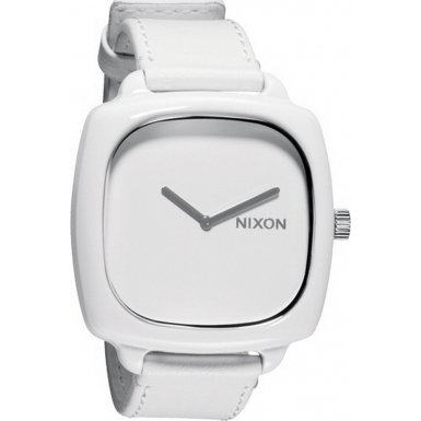 Nixon A167-1100 Ladies Shutter All White Watch