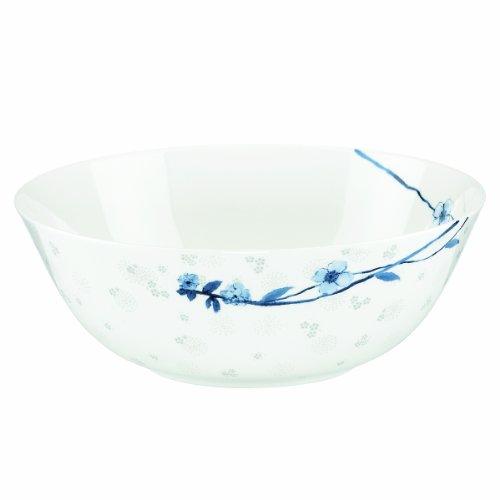 Lenox Simply Fine Watercolor Indigo Blue 9-1/2-Inch Serving Bowl