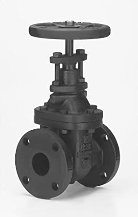 Milwaukee Valve 2882-M Series Iron Gate Valve, Class 125, Non-Rising Stem, Flanged