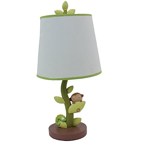 Nurture Imagination Baby Nursery Lamp Base and Shade, Swing