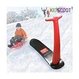 Trottinette De Neige Snowboard Kidscoot Sport Hiver Montagne Fun Cadeau