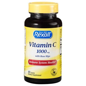 Rexall Vitamin C With Rose Hips 1000Mg-60 Ct