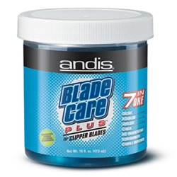 Andis Hair Clipper Blade Care Plus Dip Jar- 7 Products in 1- 16oz