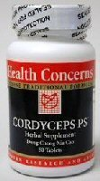 Health Concerns - Cordyceps Ps 50 Tabs [Health And Beauty]