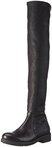 Tosca Blu - Stivali sopra il ginocchio, non imbottiti da Donna, colore Nero (C99), taglia 40 EU