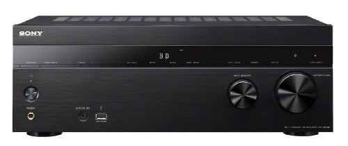 Sony STR DH540 5.2 channel Receiver (145 watts per channel {canal}, {canal} 4 K, 3D, 4 x HDMI IN, 1 x HDMI OUT, USB) black