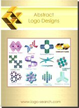 Abstract Logo Design Collection on CD ROM for Business Branding and Adverstising