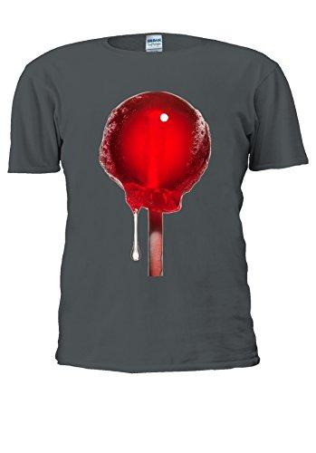 NisabellaLTD -  T-shirt - Maniche corte  - Uomo Charcoal XX-Large