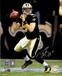 Drew Brees signed New Orleans Saints 8X10 Photo (NFC Championship Game)- Brees... by Athlon Sports Collectibles
