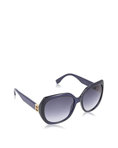 Fendi Gafas de Sol 0047/S (57 mm) Azul Marino