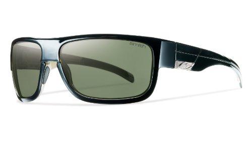 Smith Optics Collective Sunglass (Black/Polarized Gray Green)