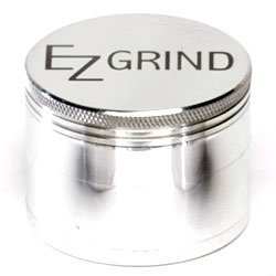 Ez Grind 4 Piece Aluminum Herb Grinder Large 62Mm