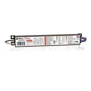 GE Lighting 74472 GE240RS-MV-N 120/277-Volt Multi-Volt ProLine Electronic Fluorescent T12 Programmed Rapid Start Ballast 2 or 1 F40 or F34T12 Lamps