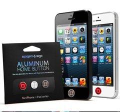 国内正規代理店品 SPIGEN SGP アルミニウム ホームボタン2 [RSG] for iPhone  iPad SGP10087