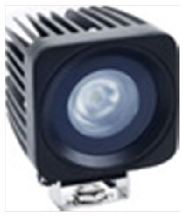"""Virile Industries 2.5"""" 10 Watt (830 Lumen) Square Led Light For Offroad And Marine Applications"""