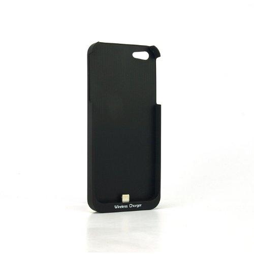 SP1003:【ワイヤレス充電】置きらく充電 レシー バー for iPhone5 ブラック