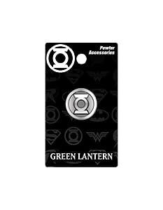 DC Green Lantern Logo Pewter Lapel Pin