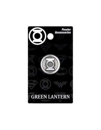 DC Green Lantern Logo Pewter Lapel Pin - 1
