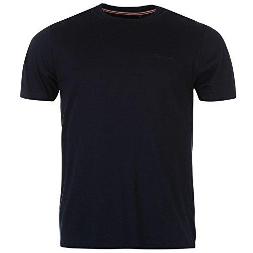 Pierre Cardin Plain manica corta girocollo Tee-Maglietta da uomo Top Abbigliamento Blau 3XL