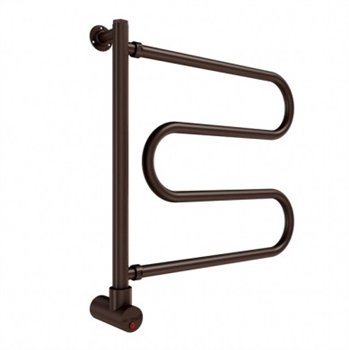 Mr. Steam W500Orb Wall Mounted Pivoting Towel Warmer Oil Rubbed Bronze