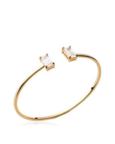 BALI Jewelry Brazalete metal bañado en oro 18 ct