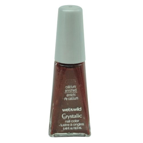 ウェットアンドワイルド CRYSTALIC CALCIUM ENRICHED NAIL COLOR #497C DEEP WINE