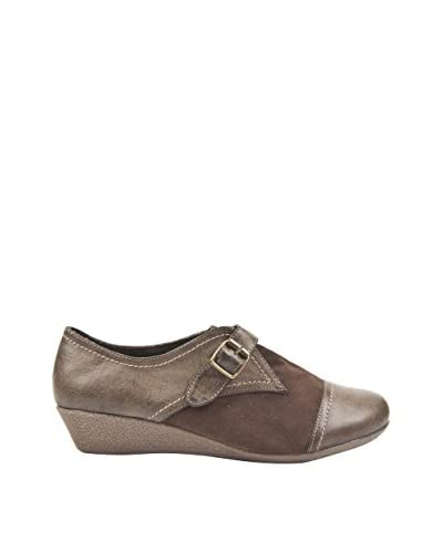 Alex Silva Zapatos Con Cuña  Hebilla