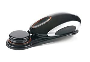 Saitek Obsidian 1000 dpi Wireless Rechargeable Optical Mouse