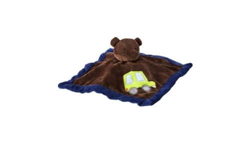 Tiddliwinks Come ride with me security blanket - 1