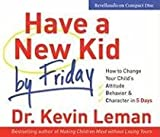 Have A New Kid By Friday ( Audio CD )