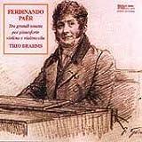 Cover of Tre Grandi Sonate by Ferdinando Paer (1995-01-01)