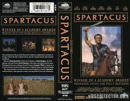 Spartacus [VHS]