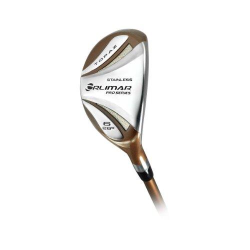 Orlimar Women's Golf Topaz 6 Hybrid Club Set, Right Hand, 28-Degree, Ladies Flex