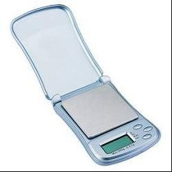 Newline Digital Pocket Jewelry Fliptop Accurate Scale, SHP0003-Silver