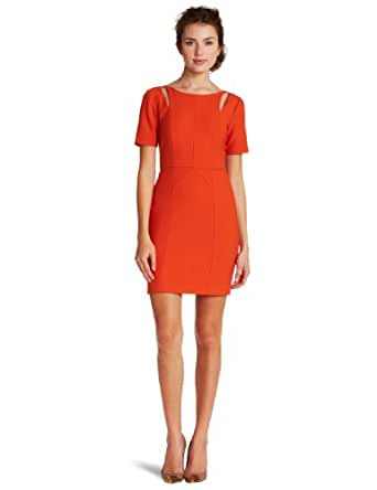 Rebecca Minkoff Women's Crystal Dress, Rust, 4
