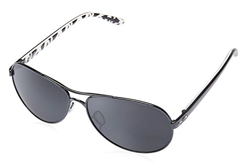 Oakley Aviator Sunglasses (Metallic Black) (0OO4079|5|59)