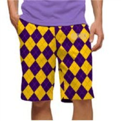 df73e96ab9 and also read review customer opinions just before buy Loudmouth Golf Mens  Shorts Purple Gold Argyle Size 36.