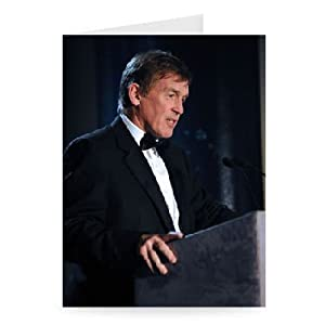Kenny Dalglish - Greeting Card Pack Of 2 - 7x5 Inch - Art247 - Standard Size - Pack Of 2