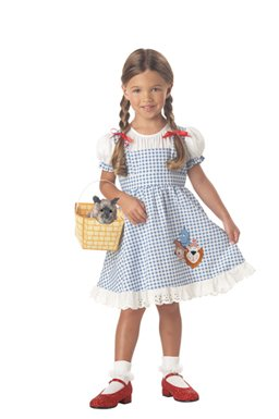 California Costume Toddler Dorothy-No Place Like Home Costume