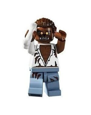 LEGO Series 4 Collectible Minifigure Werewolf (Halloween)