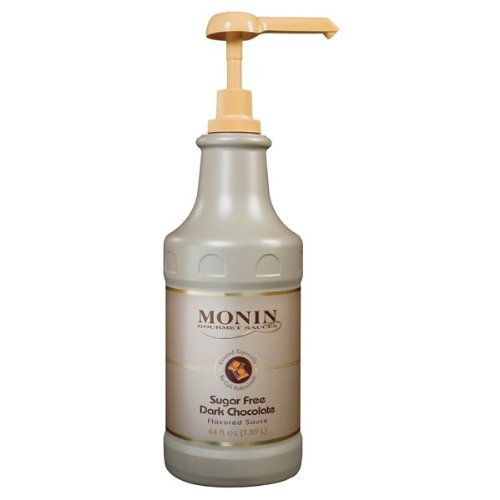 Monin Sugar Free Dark Chocolate Sauce (1 Single 
