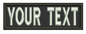 3 Inches / Custom Name Tape w/ Velcro backing / Personalized Military Name Tapes, Tactical (Custom Velcro Patch compare prices)