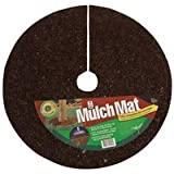 A.M. Leonard Recycled Rubber Mulch Mat Tree Ring - 4 Foot Diameter