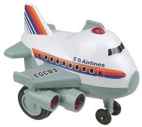 Zoomsters Jumbo Jet Friction Wind Up Toy front-1073667
