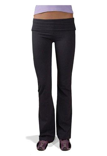 Hardtail Roll Down Boot Leg Yoga Pants (x-Small)