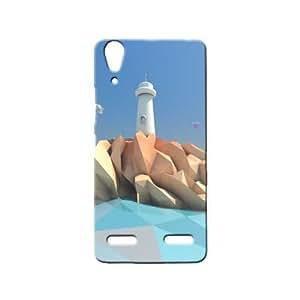 BLUEDIO Designer 3D Printed Back case cover for Lenovo A6000 / A6000 + - G3394