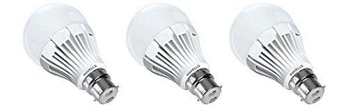 7W LED Bulbs (Cool Day Light, Pack of 3)