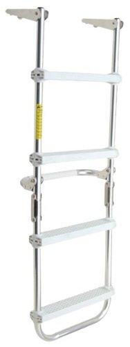 Garelick/EEz-In 12150:01 Marine Pontoon Folding Deck Ladder